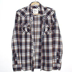 American Eagle Snap Button Shirt
